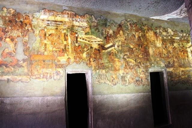 1,500年以上前に描かれた壁画