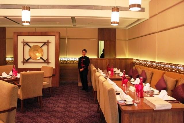 タージホテルの中華料理店