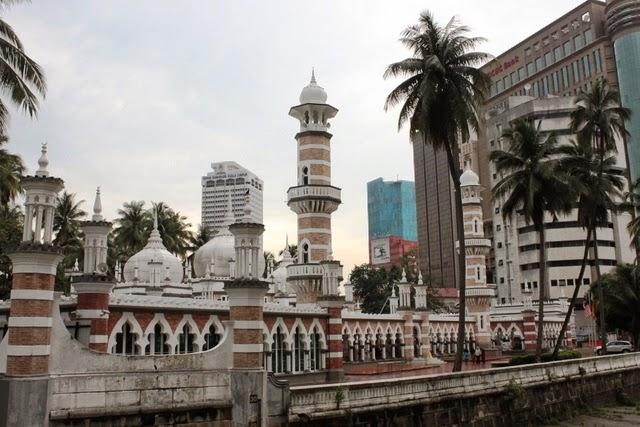 KLで最も古いモスクの一つマスジッド・ジャメック