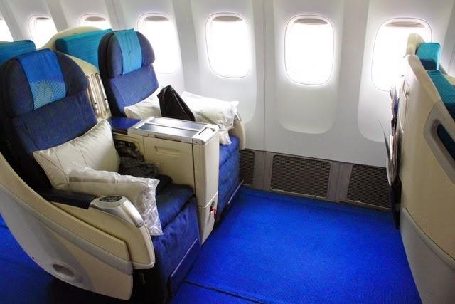 マレーシア航空 777 ビジネスクラス
