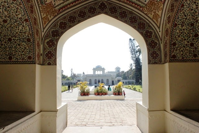 ピンジョール庭園入口