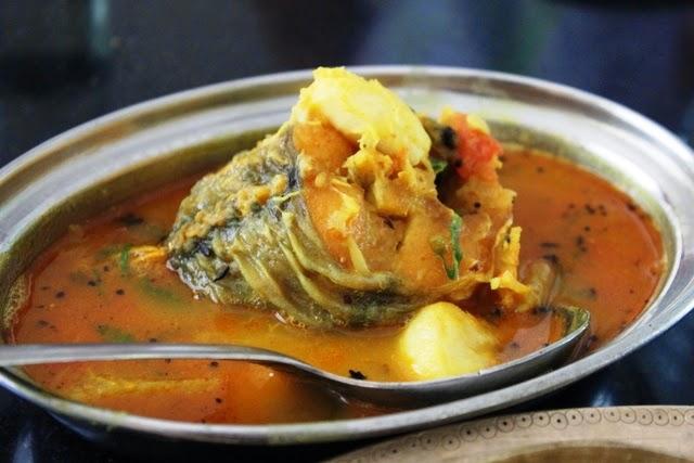 魚のカレー