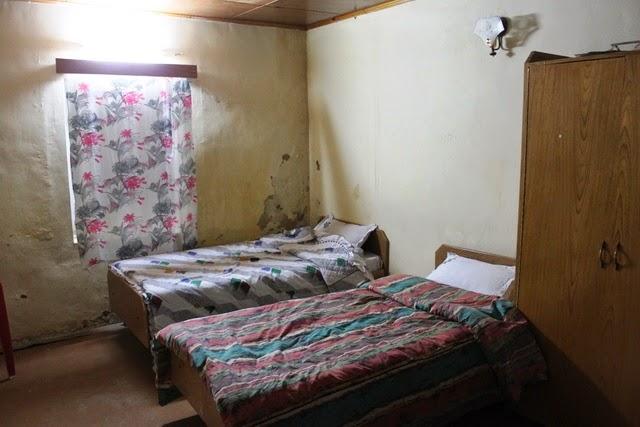 客室。4部屋しかない。写真よりも綺麗だった。