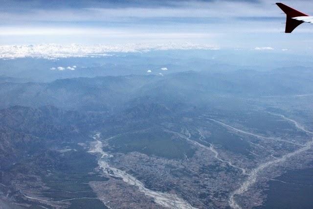 ついに平野部。川が多い。