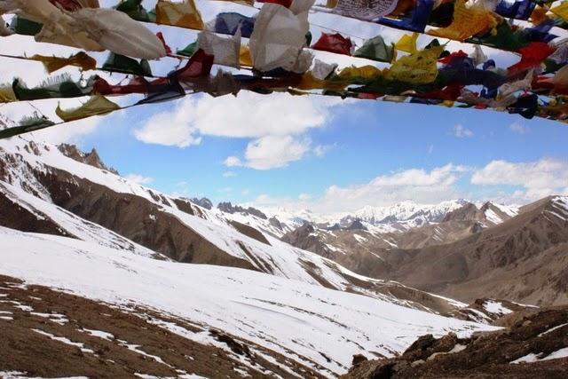 峠から眺める景色