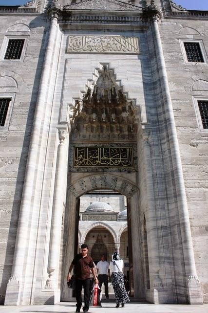 スレイマニエ・モスク入口