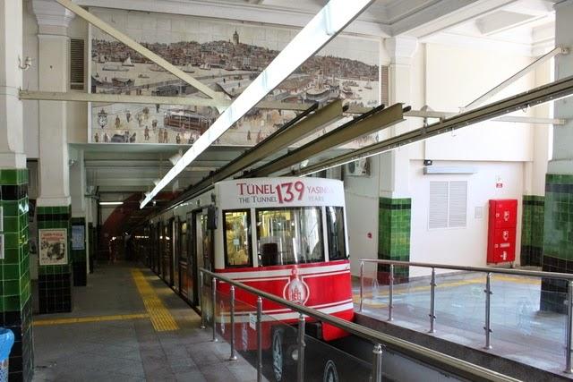 坂を下る形でカラキョイ駅までたった一駅(笑)