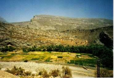 山岳地帯の村