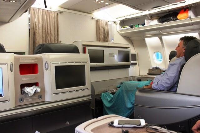 ターキッシュ A330 ビジネスクラス