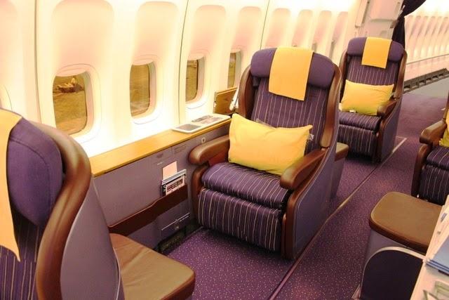 タイ航空 ファーストクラス