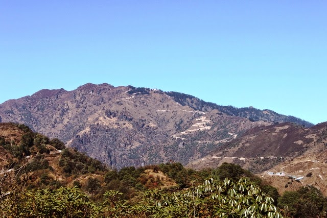 山頂がサンダクプー