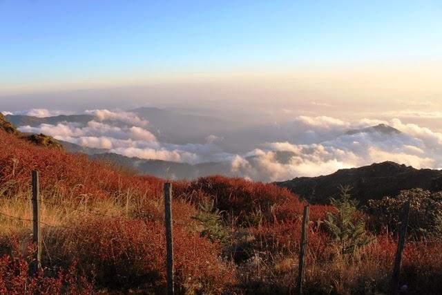 ネパール側の景色