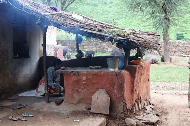 村のキッチン