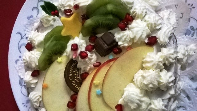インド 手作り クリスマスケーキ