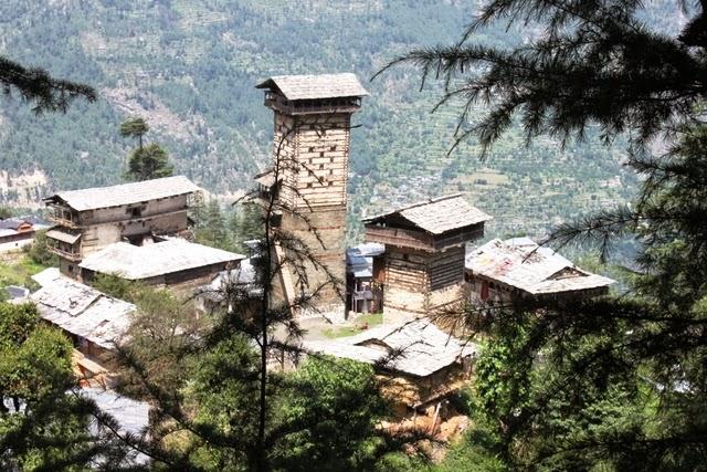 トレッキングでしか訪れられないチャヒニ村