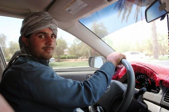 アフガン人の運転手