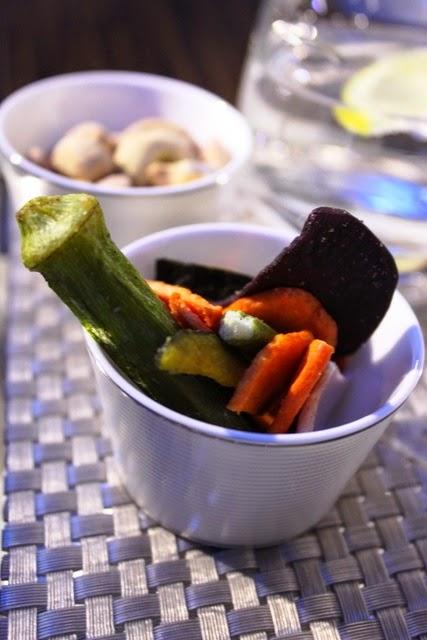 結構美味しかった野菜をそのままチップスにしたもの