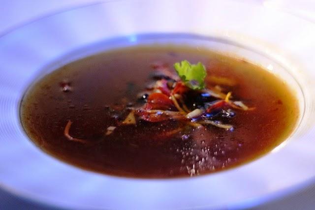オリエンタル風辛酢スープ