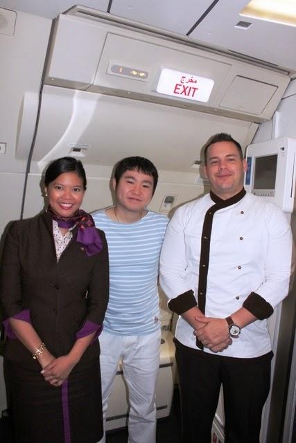 フィリピン人のキャビンマネージャーとオーストラリア人のシェフ