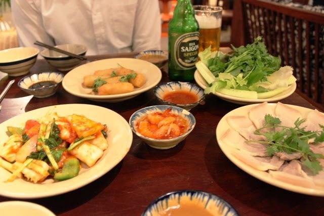 生野菜たっぷり