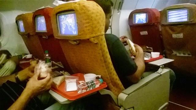 乗客の様子