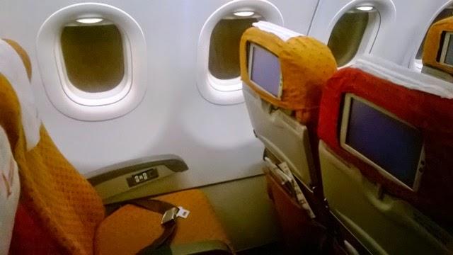 エアインディア A321 エコノミー 国内線