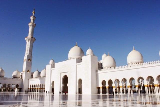 モスクの広場