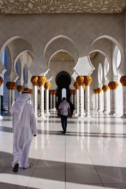 モスクの廊下