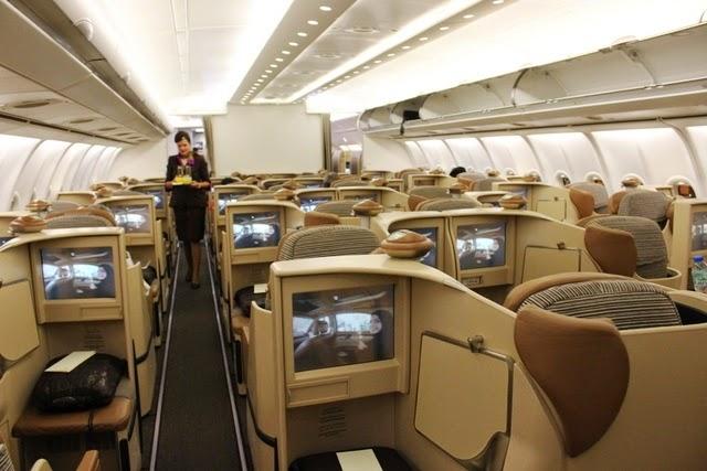 エティハド航空 インド ビジネスクラス