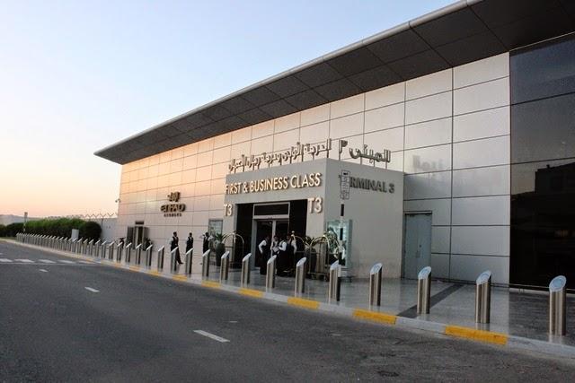 エティハド航空ファースト・ビジネスクラスクラス専用の入口