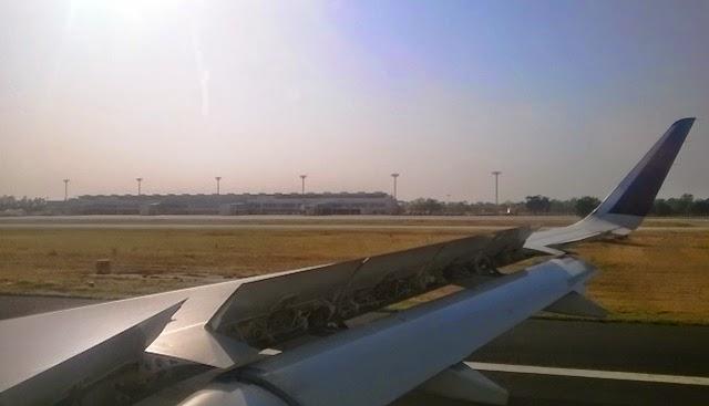 国際線ターミナルが見えました