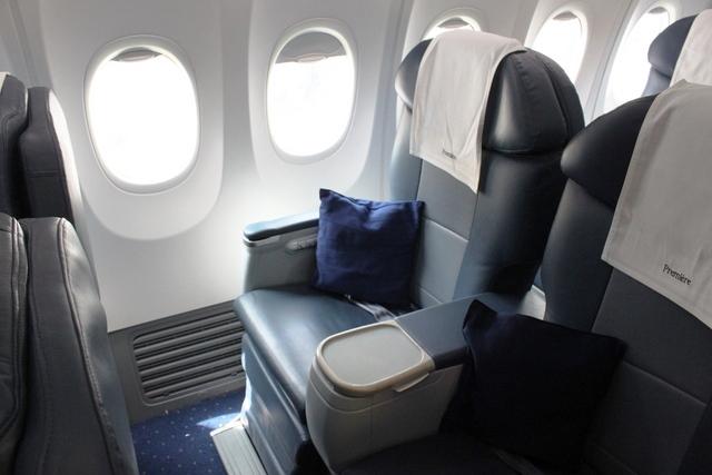 ジェットエアウェイズ 737 ビジネスクラス
