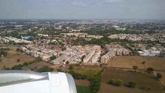 空港付近の住宅街