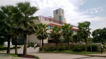 病院の外観
