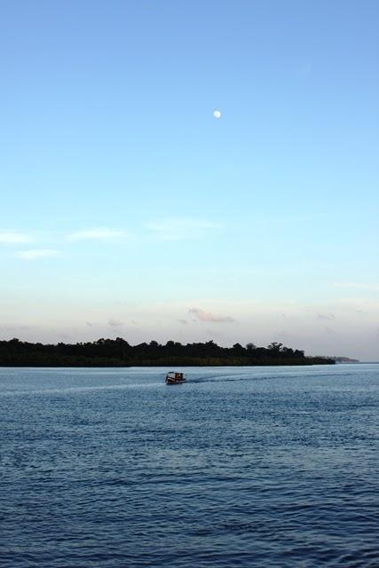ハヴロック島の日暮れ