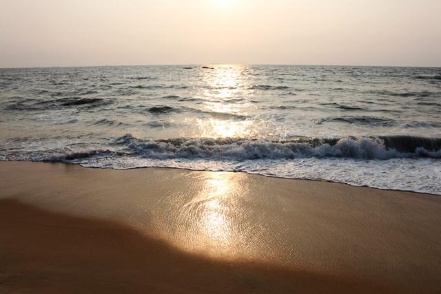 砂浜が綺麗