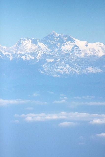 これはエベレスト山