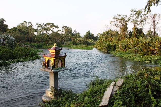 チョンカム村の奥