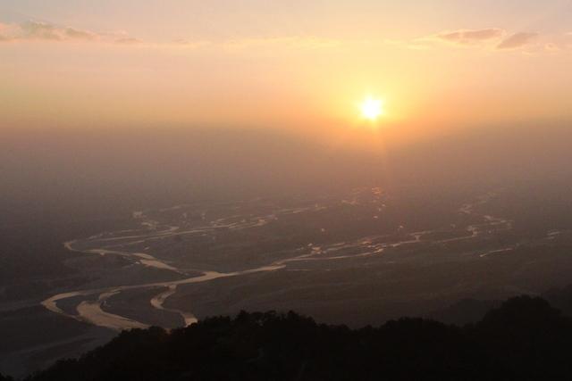 インド 最東端:日暮れ