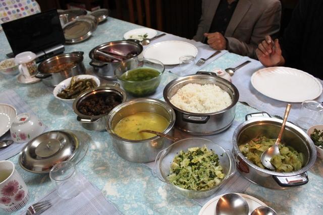 タイ族の料理