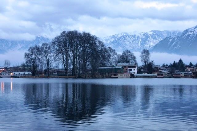 真冬の景色も幻想的
