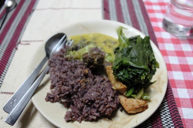 ナガランドの家庭料理