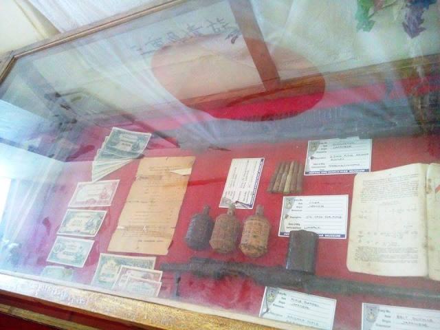 インパール戦争博物館展示物