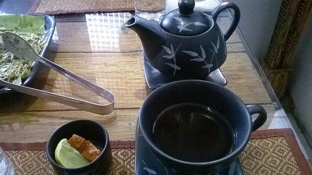 赤米のお茶