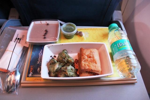 ジェットエアウェイズ 国内線:機内食