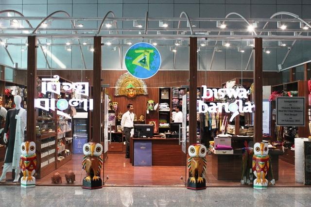 ベンガル地域の土産物屋
