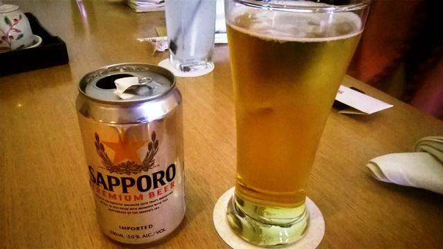 サッポロ・ビール!
