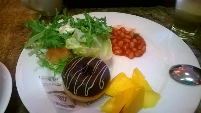 マリオット・ホワイトフィールドの朝食
