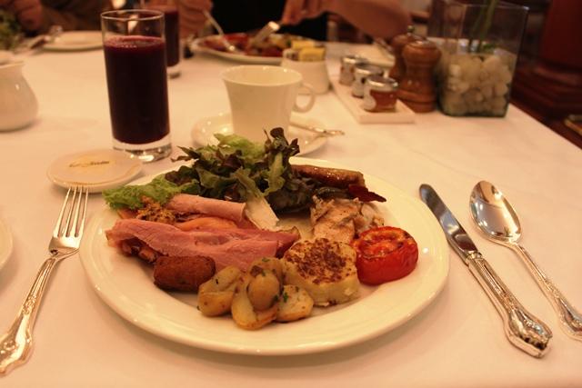 ザ・オベロイ・バンガロールの朝食