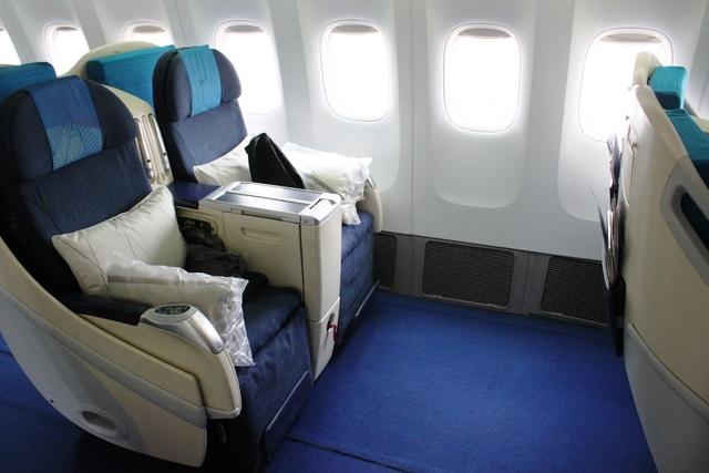 マレーシア航空のビジネスクラス